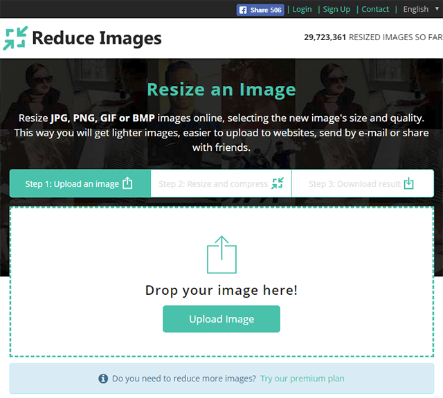 Resize Images Online